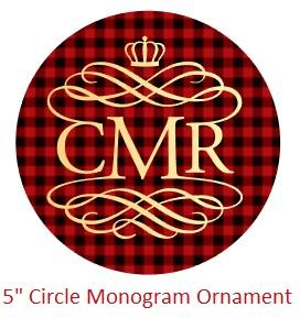 "5"" Royalty Monogram"