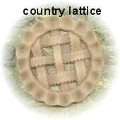 5″ Country Lattice Topper