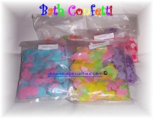 Bath Confetti, Bagged