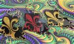 Louisiana Fleur de Lis Keychains
