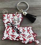 Louisiana Keychains