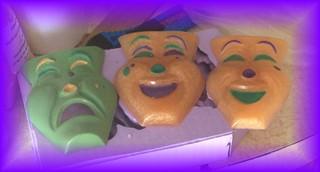 Mardi Gras Masks Soaps