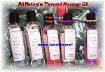 All Natural Massage Oil