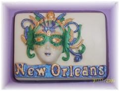 Mardi Gras New Orleans Silicone Soap Mold
