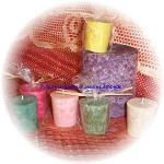 Pure Crystallizing Palm Wax Votives