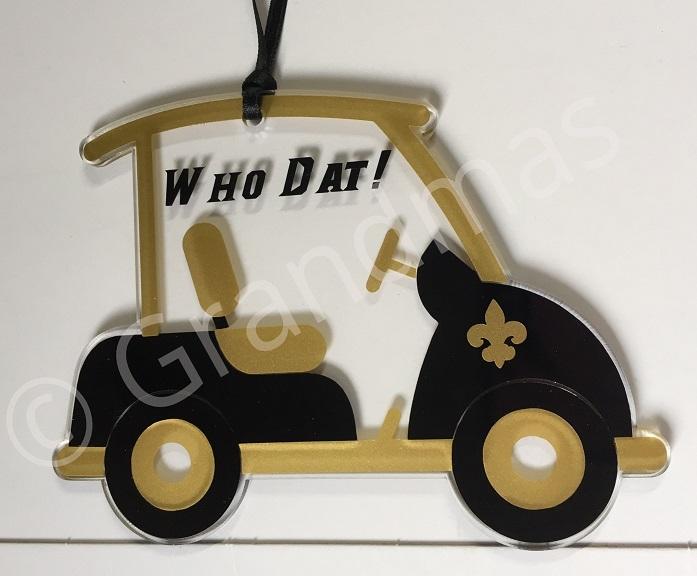 Saints Golf Cart