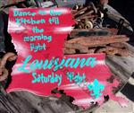 """13"""" Wooden Distressed Sign (Dance)"""