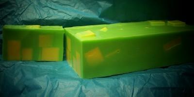 Lively Limeon Goat Milk Chunk Soap