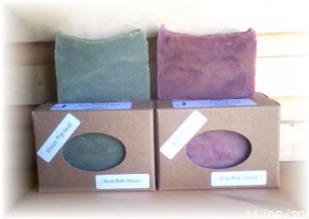 Raspberry or Green Fig Leaf Soap