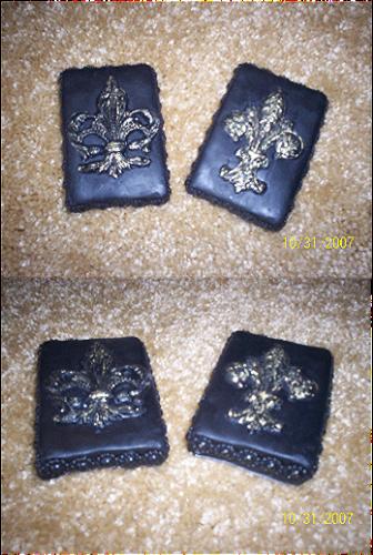 Victorian Fleur de Lis Soap Set