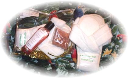 Spa Bag, Warm Vanilla Sugar