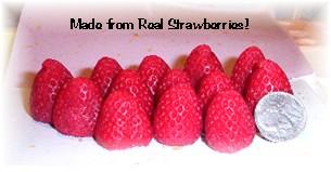Medium Whole Strawberry Mold