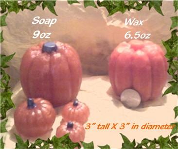 Rustic Pumpkin Mold